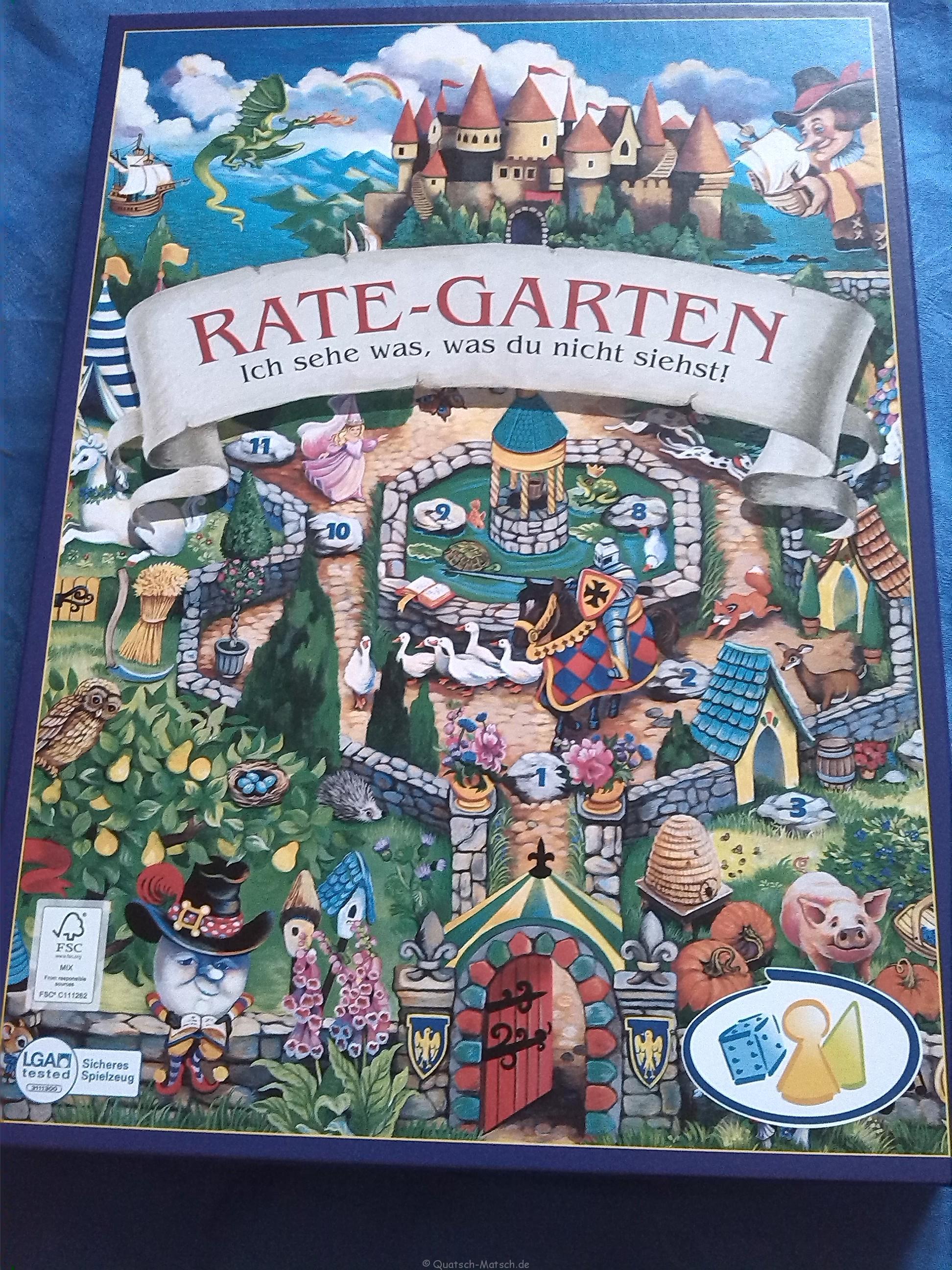 Rate Garten – Spieletest