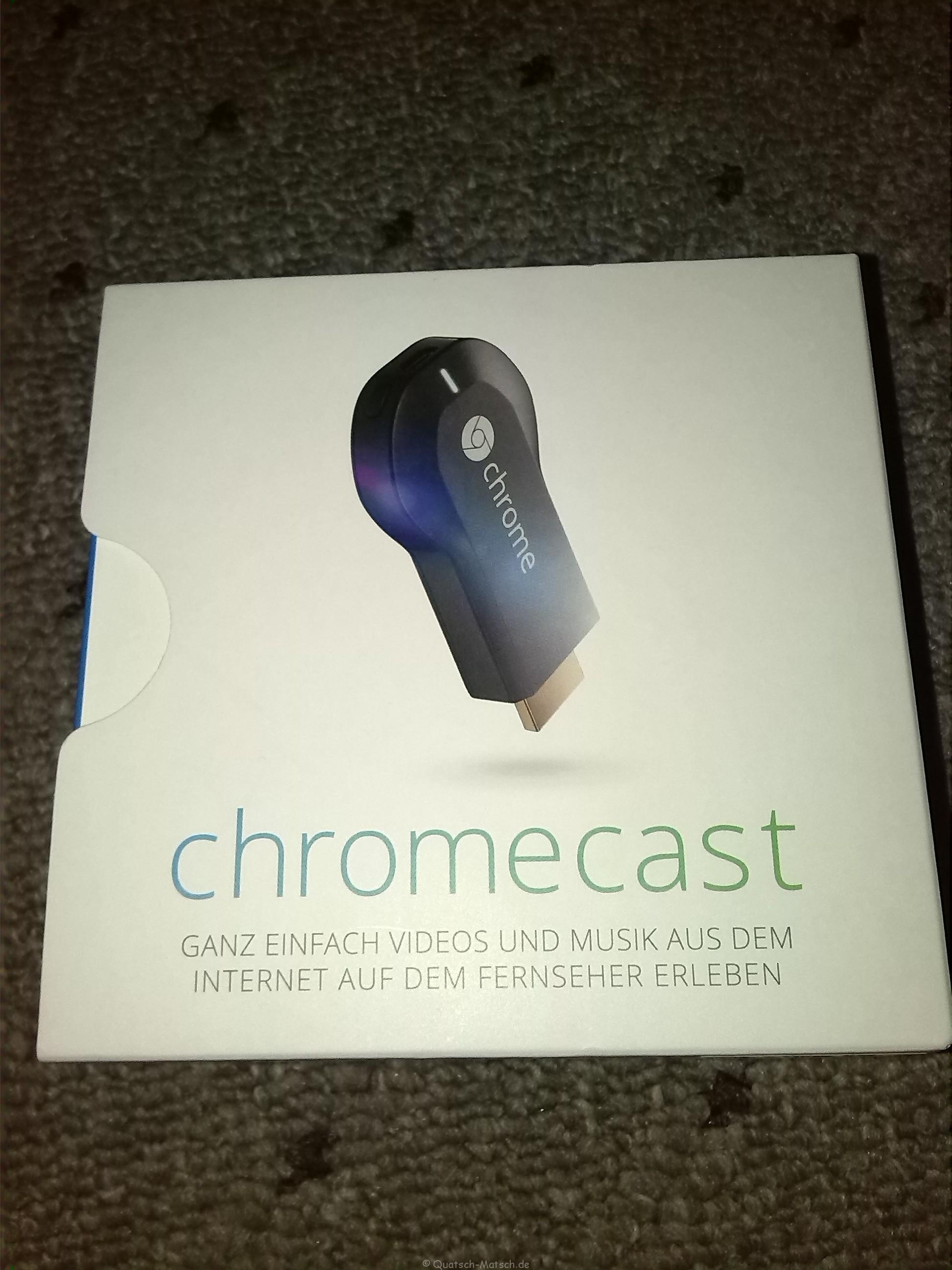 Chromecast und Watchever