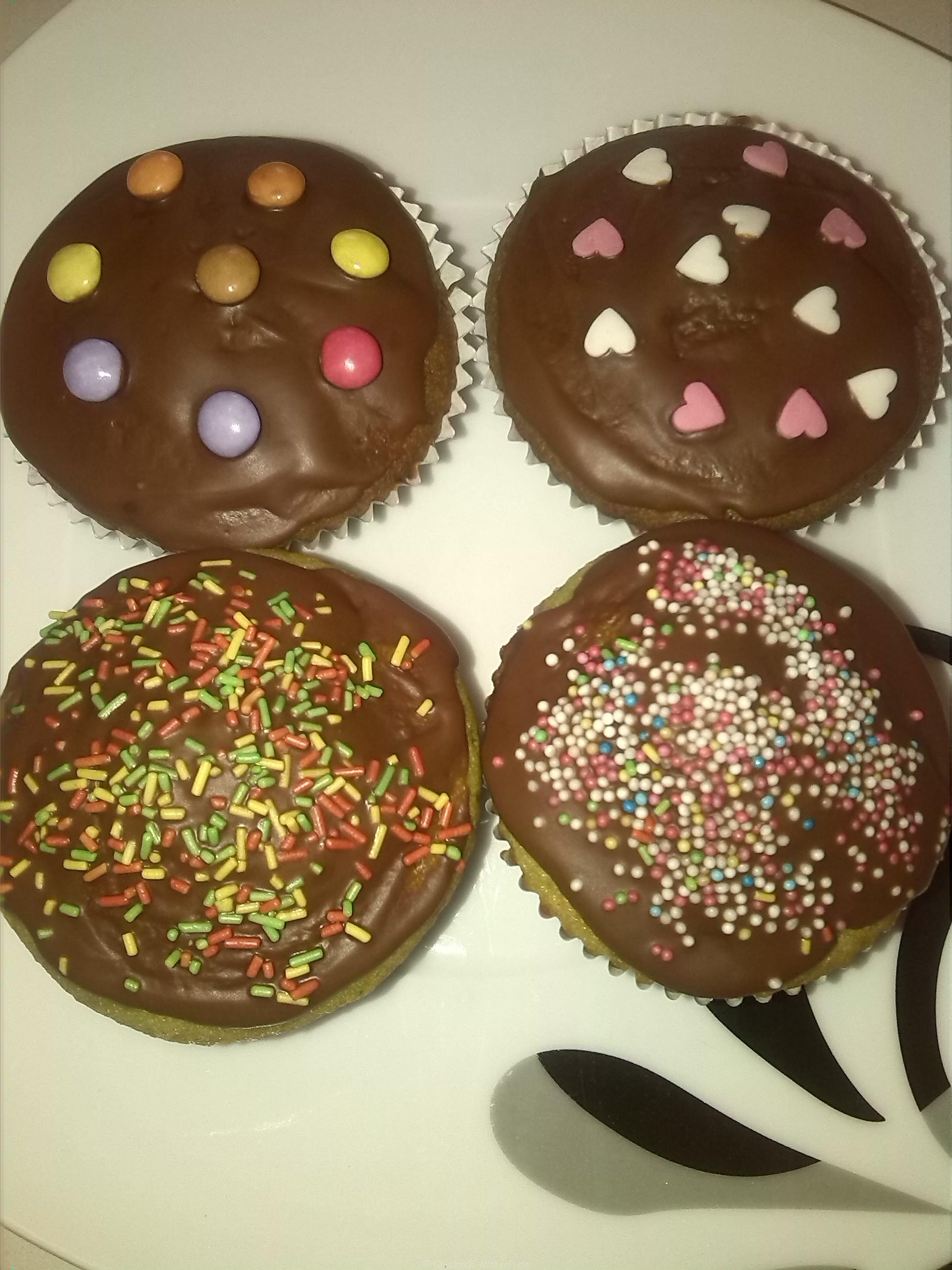 Kunterbunte Muffins