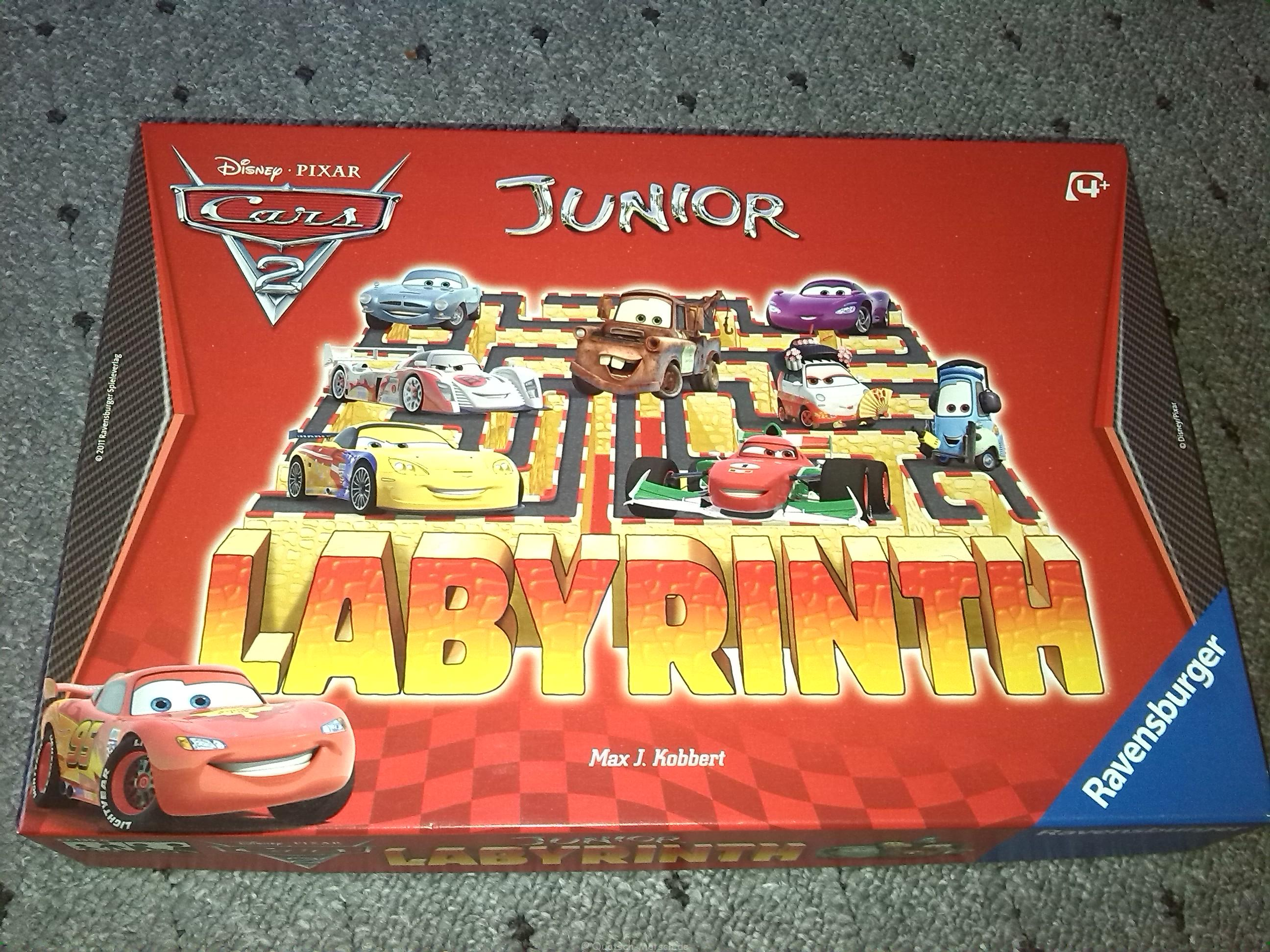 Das Verrückte Labyrinth Junior – Cars Edition von Ravensburger im Spieltest
