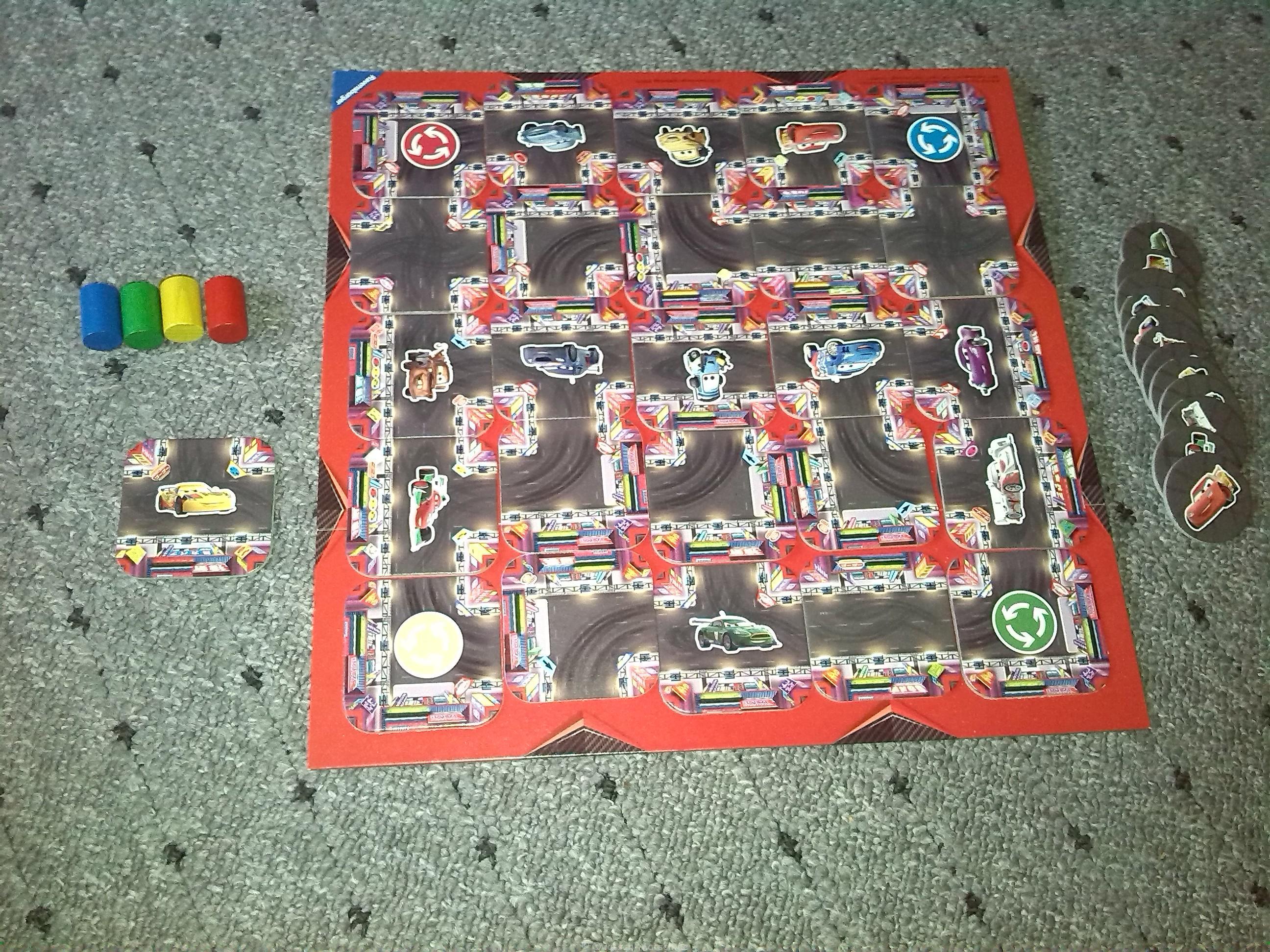 Im Crazy Junior Ravensburger Labyrinth di Cars Edition The odxreCB