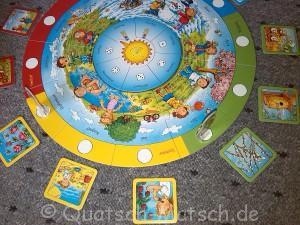 Spielplan Rund um den Kalender