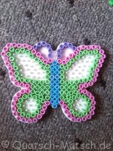 Bügelperlen Schmetterling