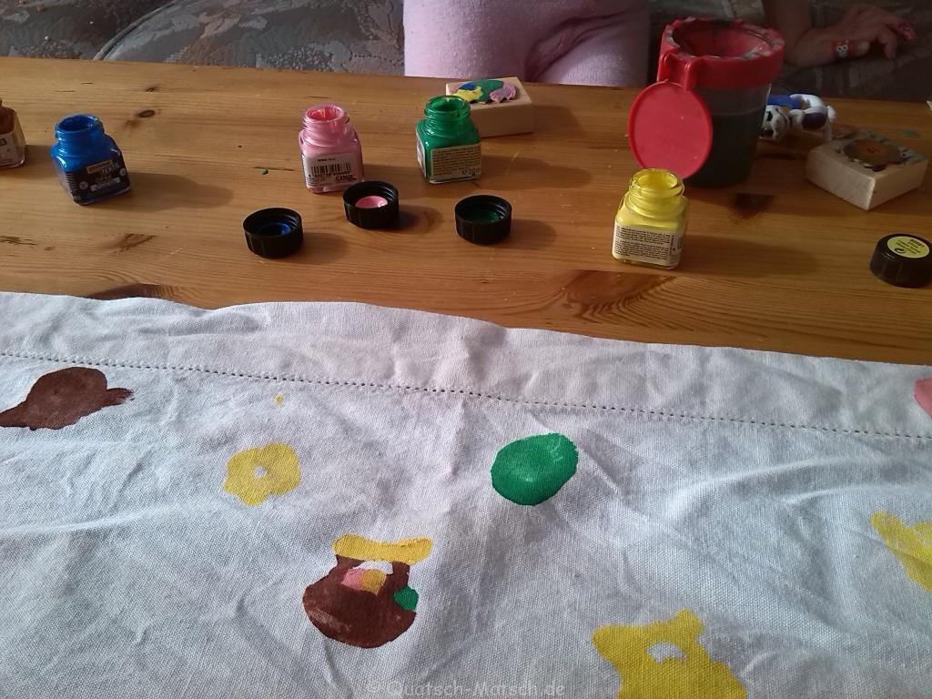 Tischdecke selber machen