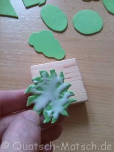 Stempel aus Moosgummi selber machen