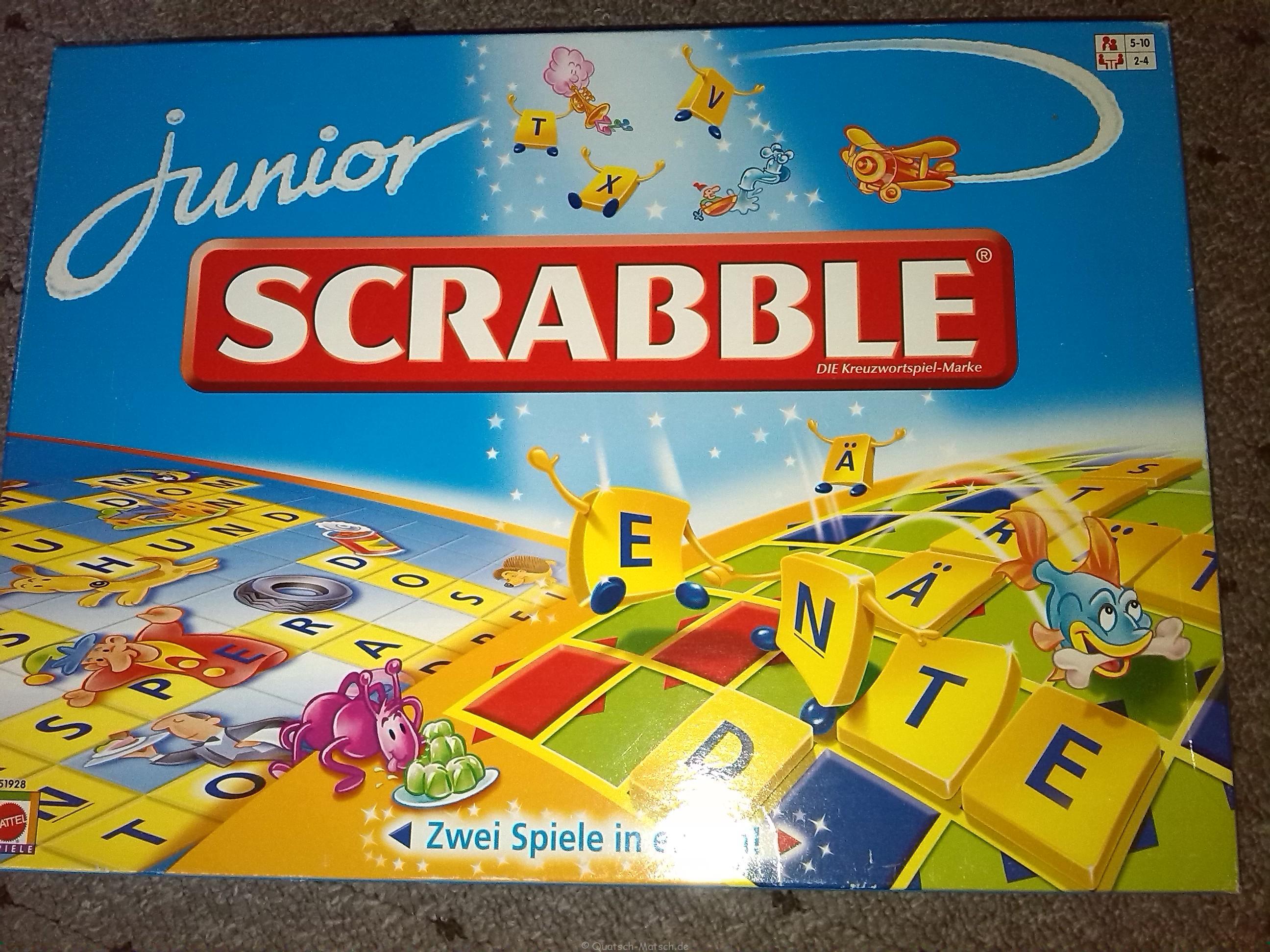 Scrabble Junior von Mattel im Spieletest