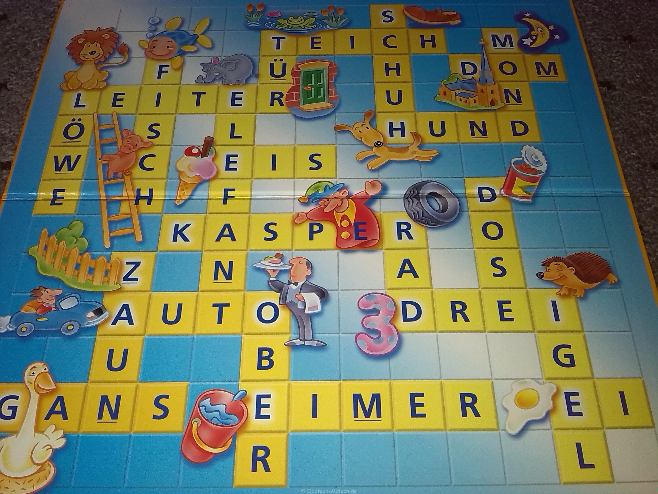 Scrabble Junior von Mattel im Spieletest | Der Familienblog für ...