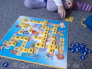 Spielplan Scrabble Junior