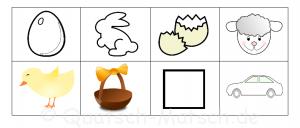 Stempelvorlagen Ostern