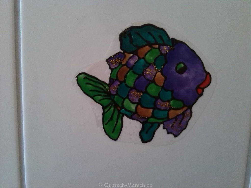 Regenbogenfisch mit Window Color