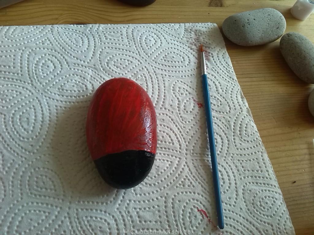 Tiere aus Steinen machen