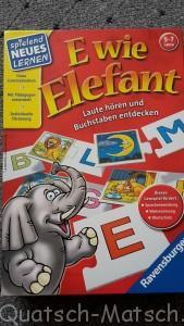 E wie Elefant von Ravensburger im Spieletest