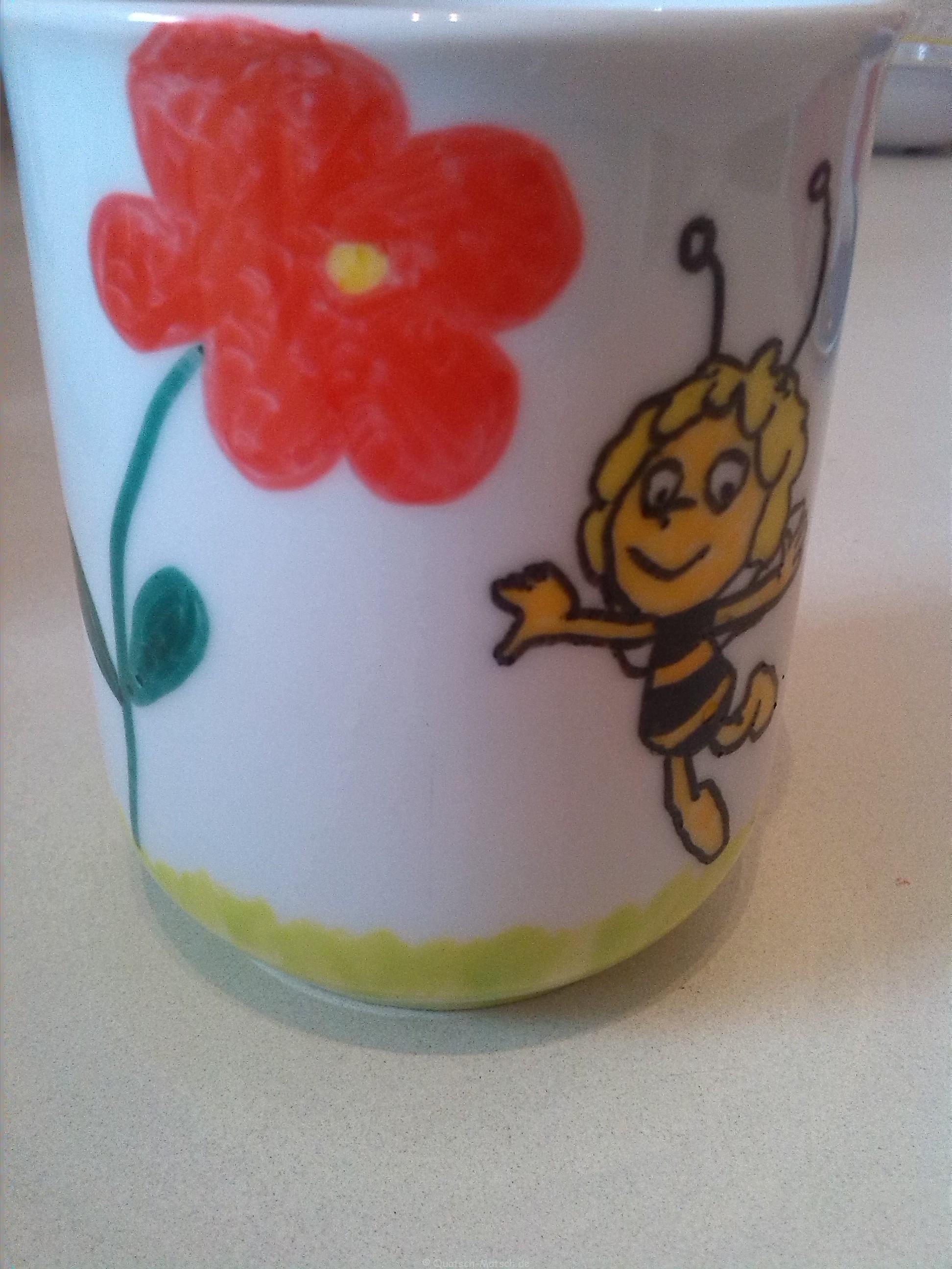 Porzellantassen selber gestalten | Der Familienblog für kreative Eltern