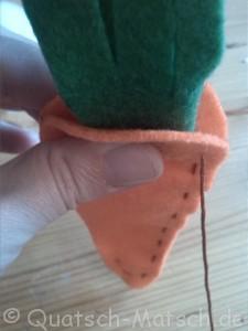 Karotte Möhre selber machen