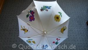 Kinderregenschirm bemalen