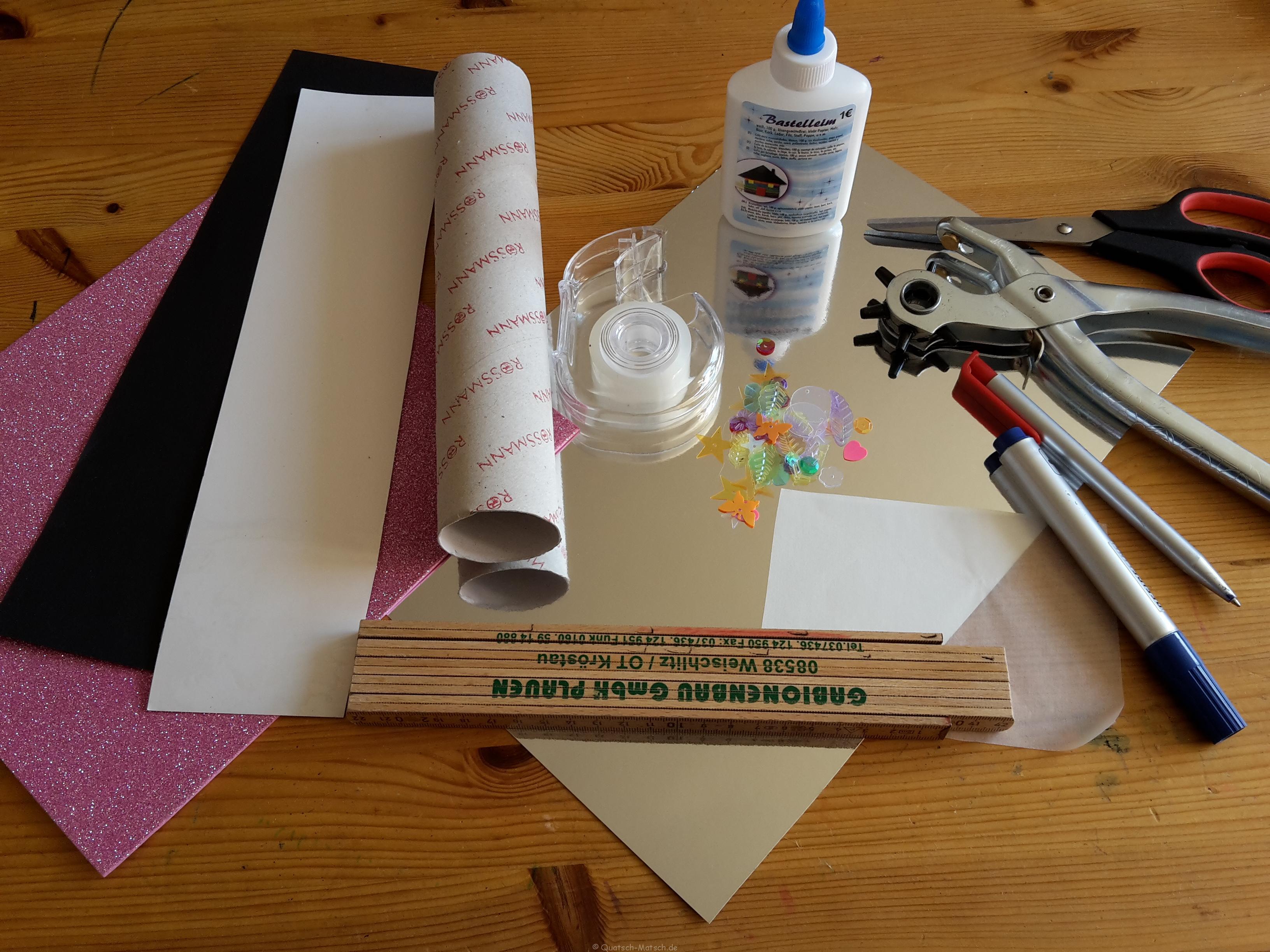 DIY Kaleidoskop selber machen | Der Familienblog für kreative Eltern