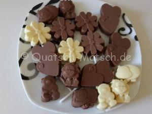 Schokoladen Teller