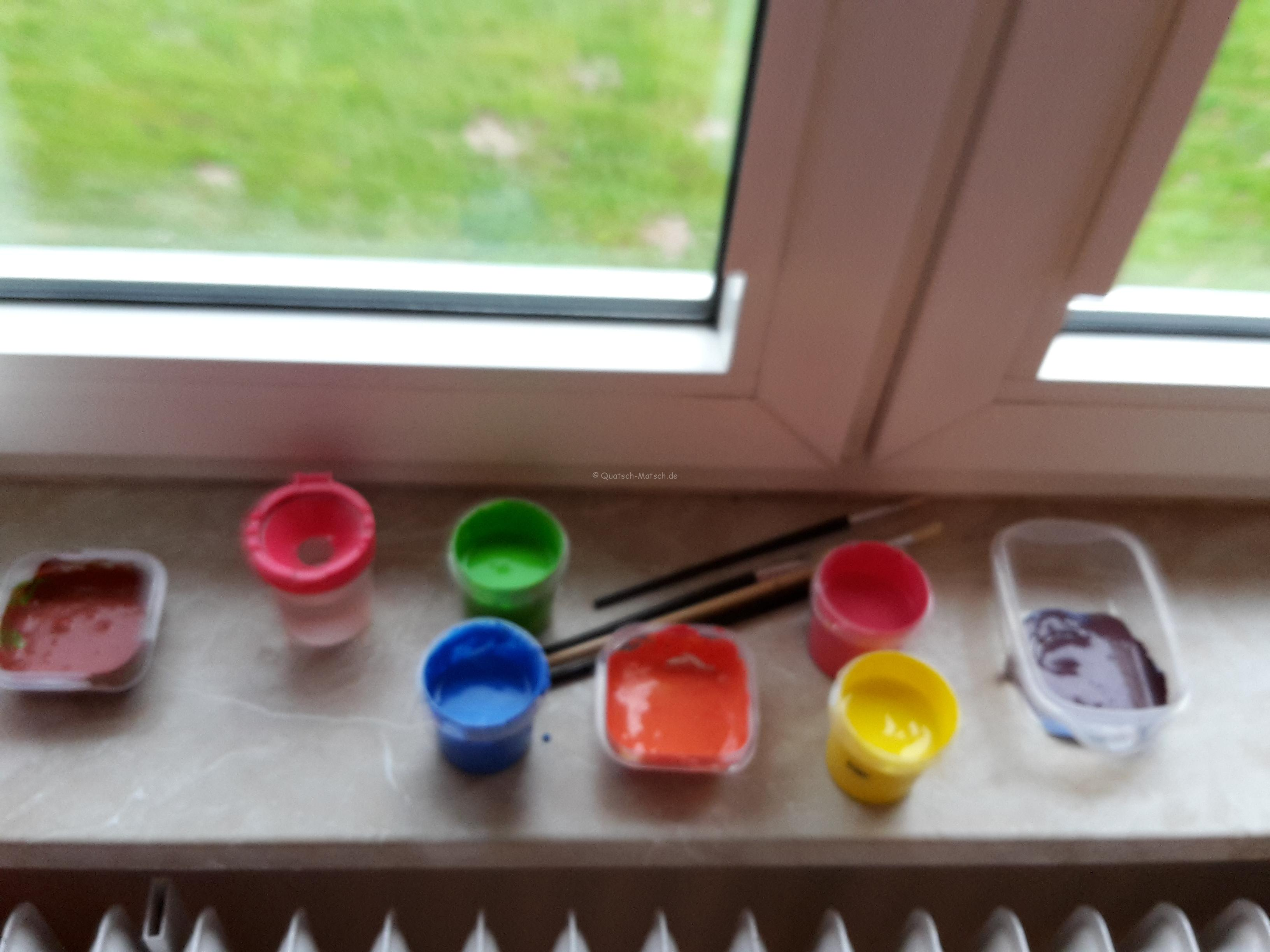 Fensterbild mit fingerfarben diy der familienblog f r kreative eltern - Fenster geht nicht mehr auf ...