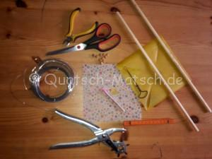 Material Windrad DIY