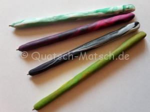 Kugelschreiber aus Fimo