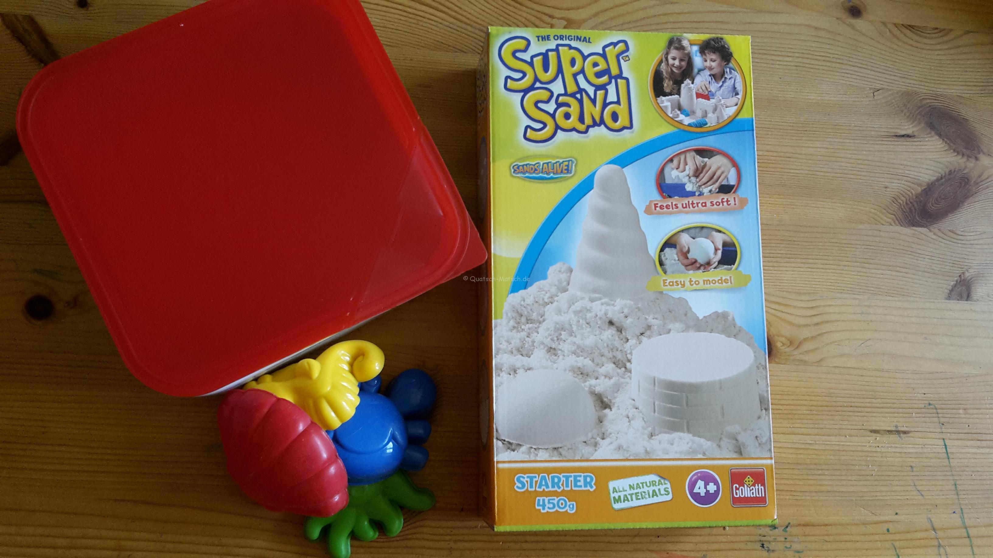 Super Sand im Test und Gewinnspiel