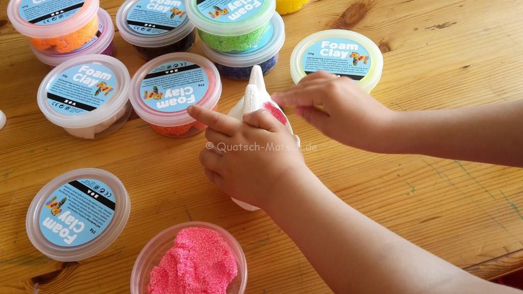 Foam Clay gestalten