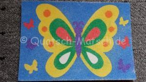 Schmetterling basteln bastelanleitung