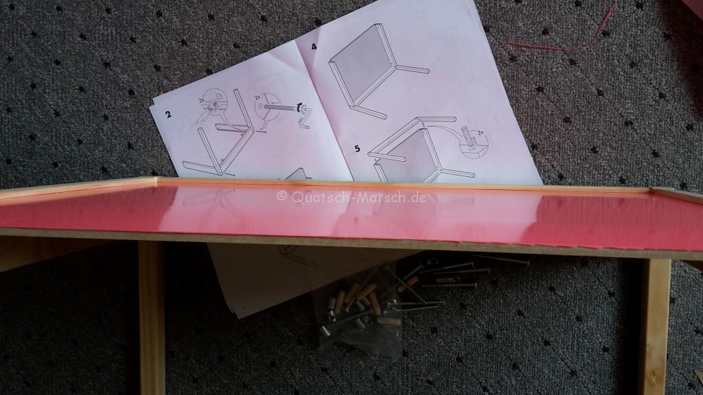 Tisch zusammen bauen Ikea