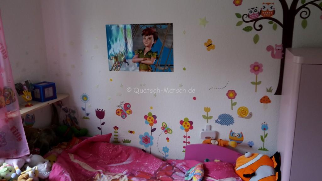 Wandtattoo Peter Pan Poster