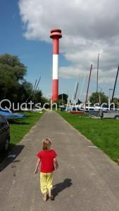 Leuchtturm Kollmar Strand