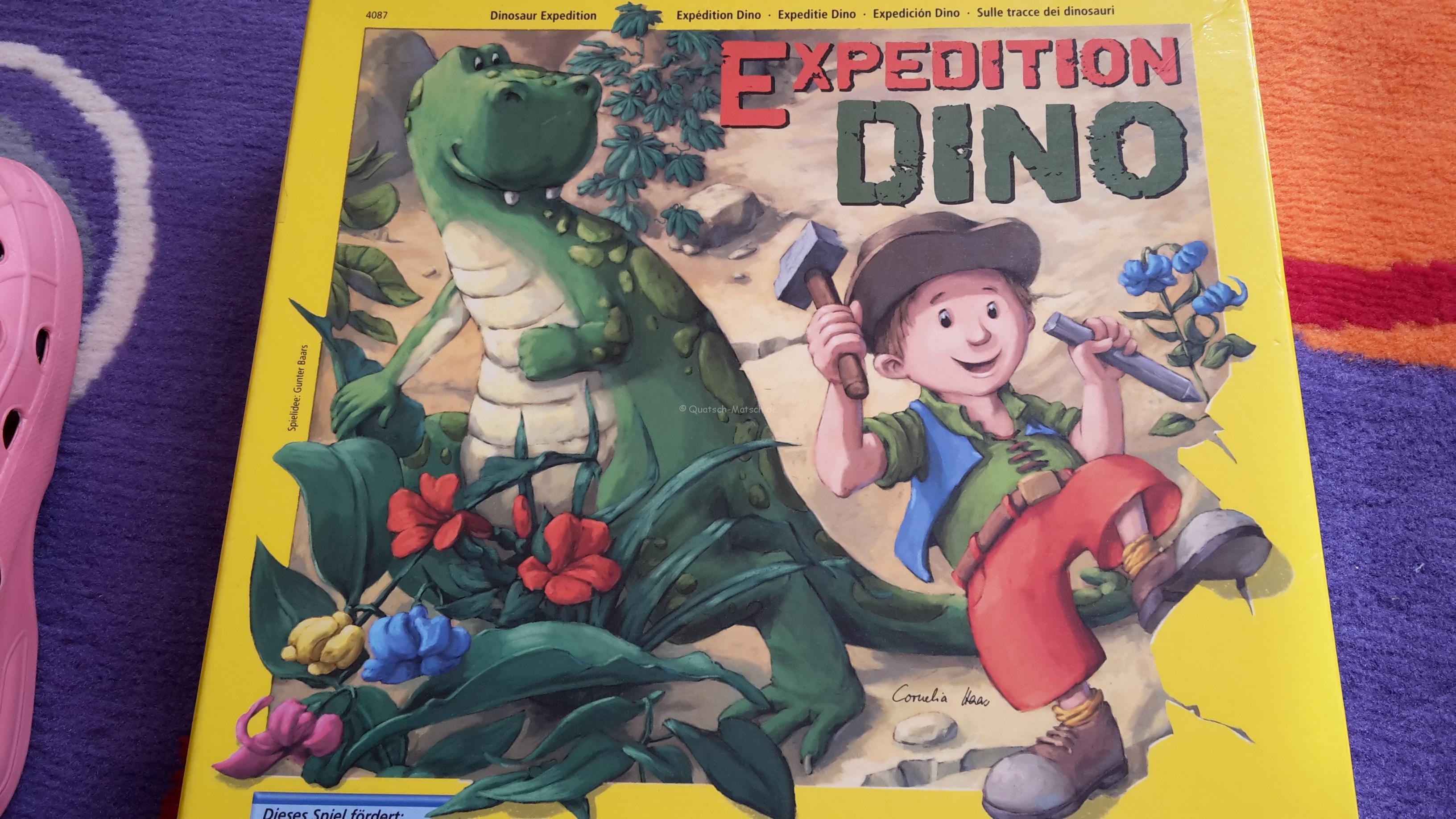 Expedition Dino von HABA im Spieletest