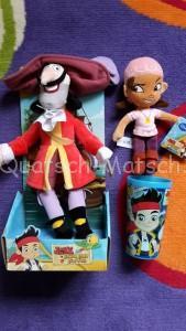 Jake und die Nimmerland Piraten Stofftiere