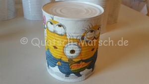 Dosenwerfen für Kindergartenkind