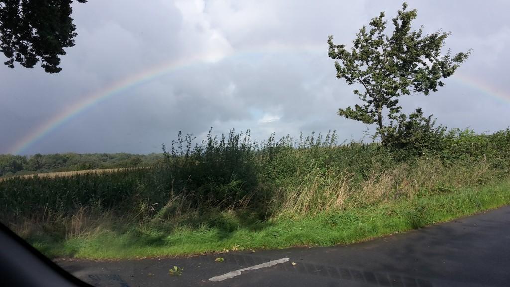 Regenbogen Tolk Schau Wettervorhersage Tolk