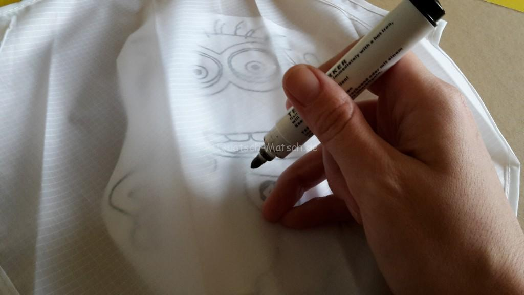 Stoffmalstifte BELEDUC Drachen malen