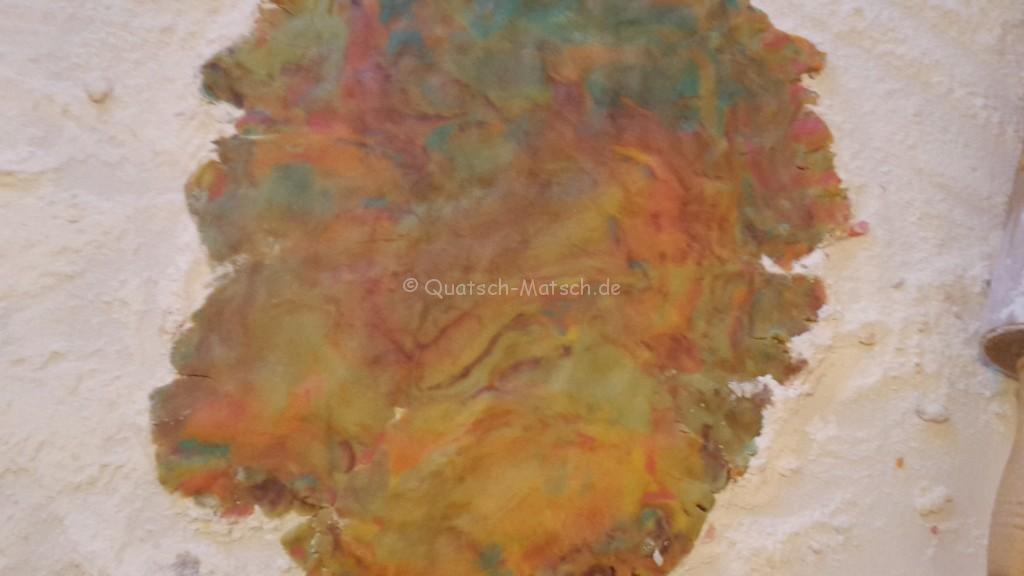Keksteig mit farbe