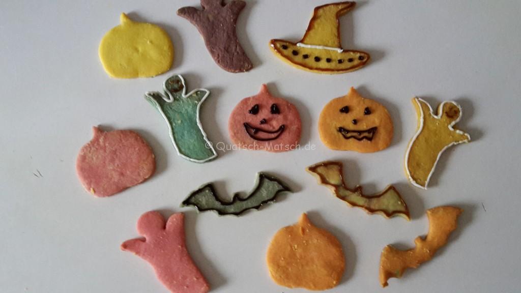 Bunte Kekse Halloween :-)