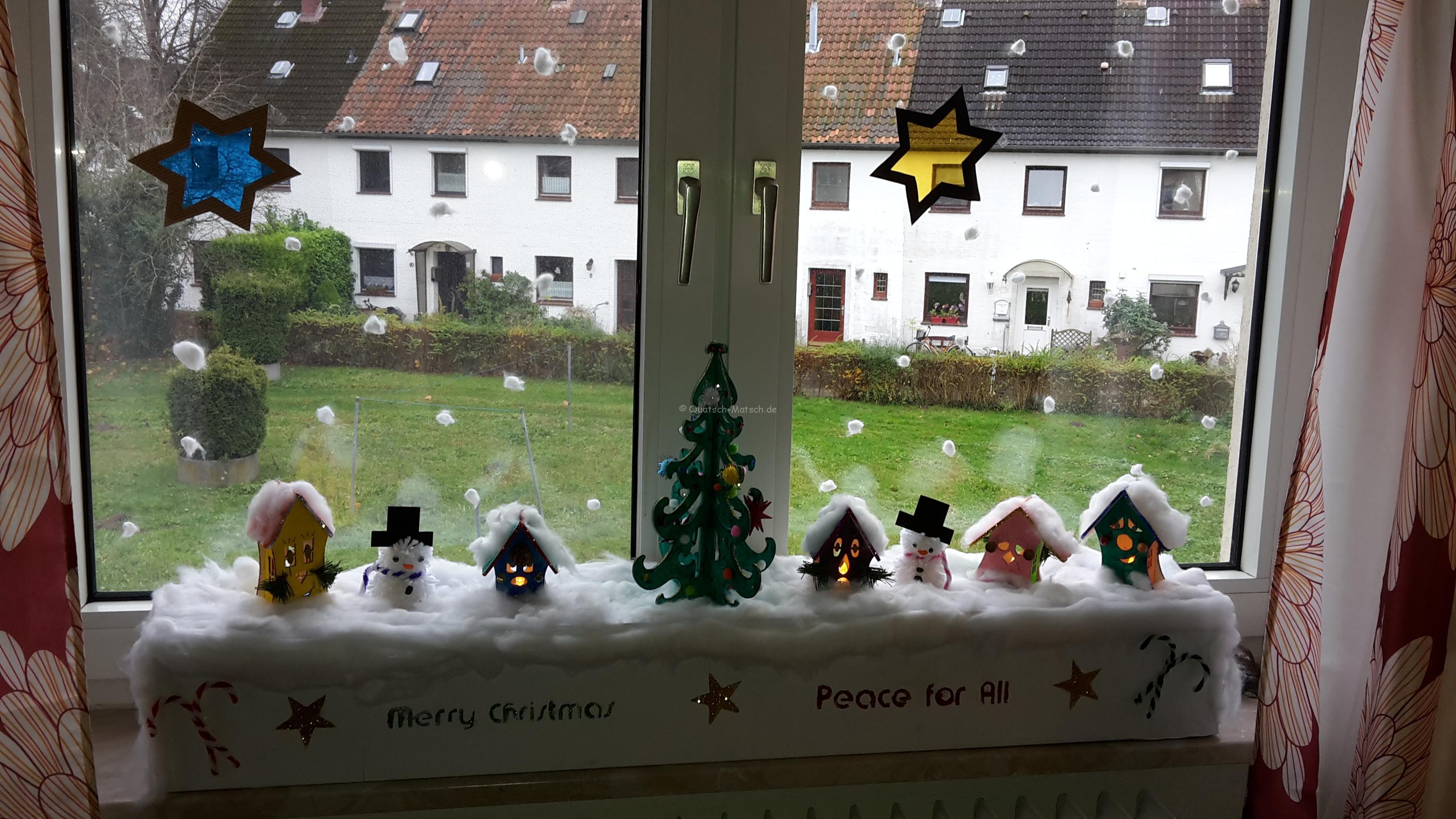Unsere Weihnachsstadt – DIY