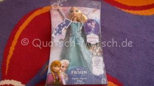 Singende Elsa Frozen die Eiskönigin