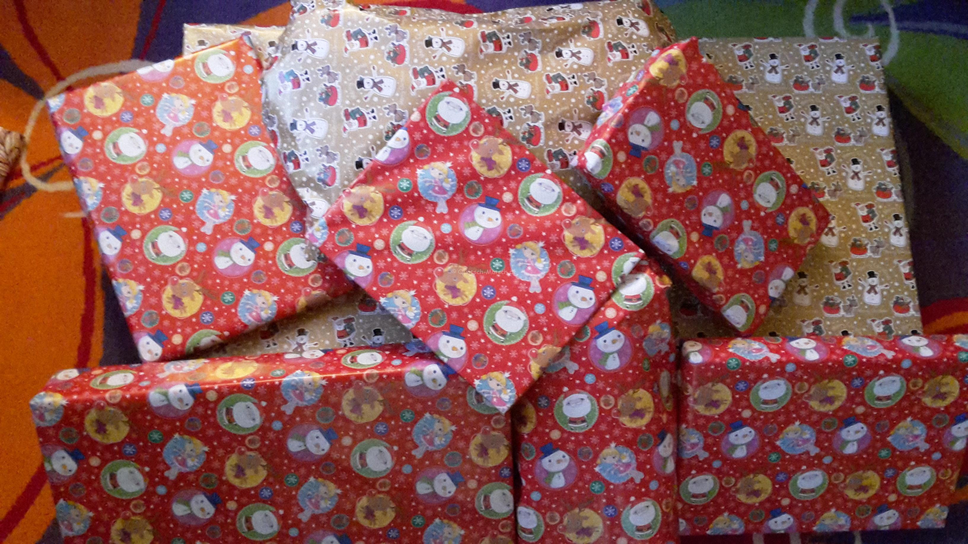 Die Weihnachtsgeschenke für M.J.