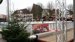 Eislaufbahn Weihnachtsmarkt heide