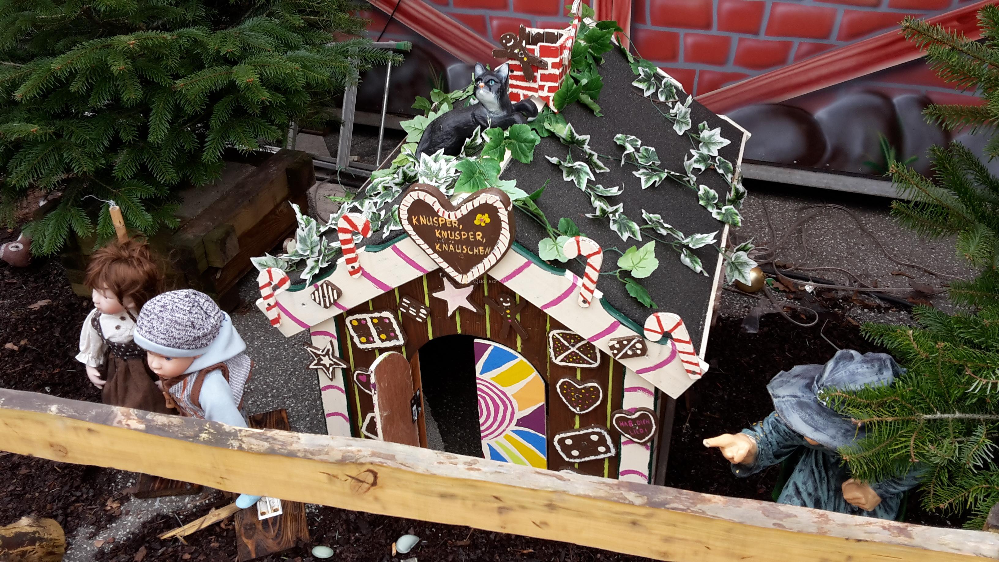 Besuch auf dem Weihnachtsmarkt