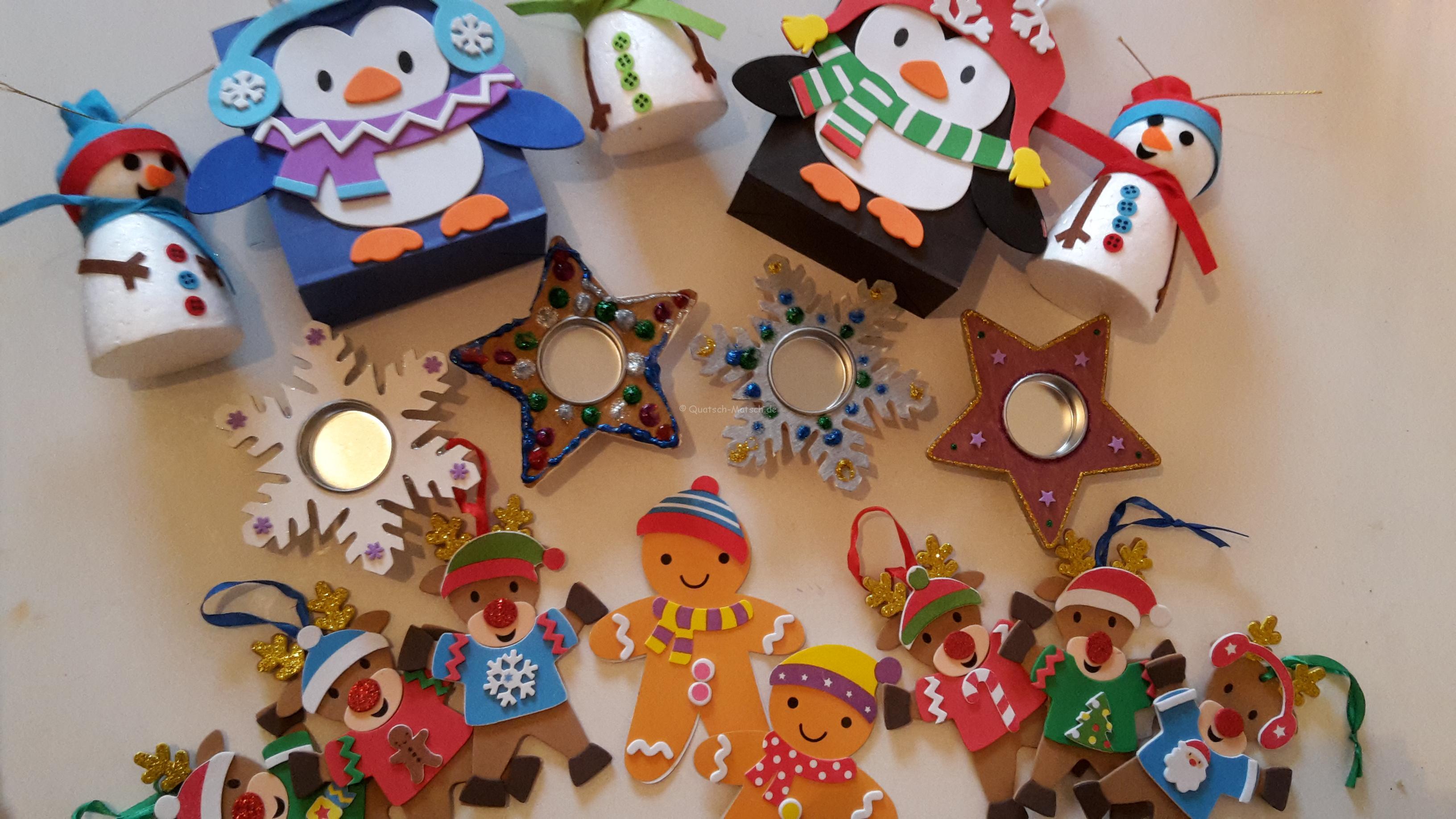Das Winter und Weihnachtsbastelpaket