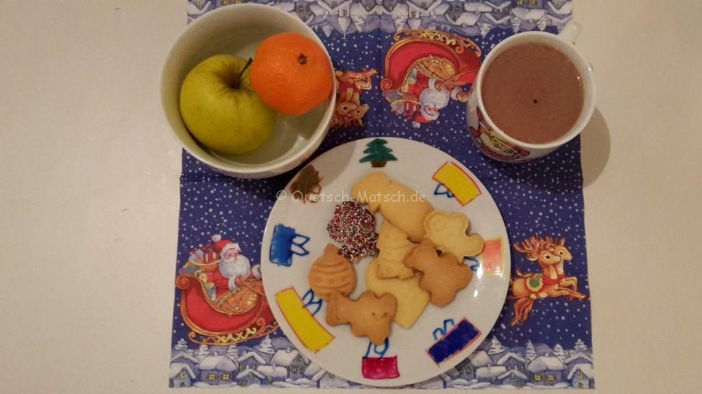 kekse für den weihnachtsmann