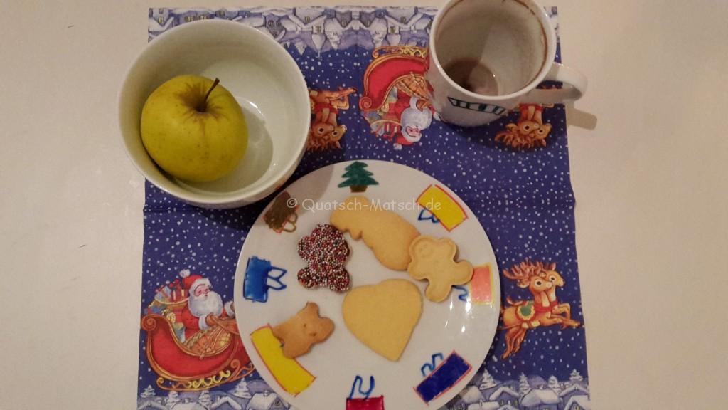 hungriger Weihnachstmann