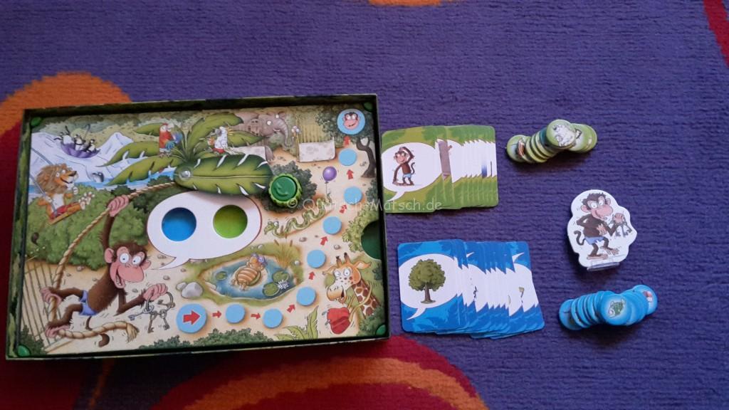 Spielinhalt der verdrehte Sprachzoo - Ravensburger