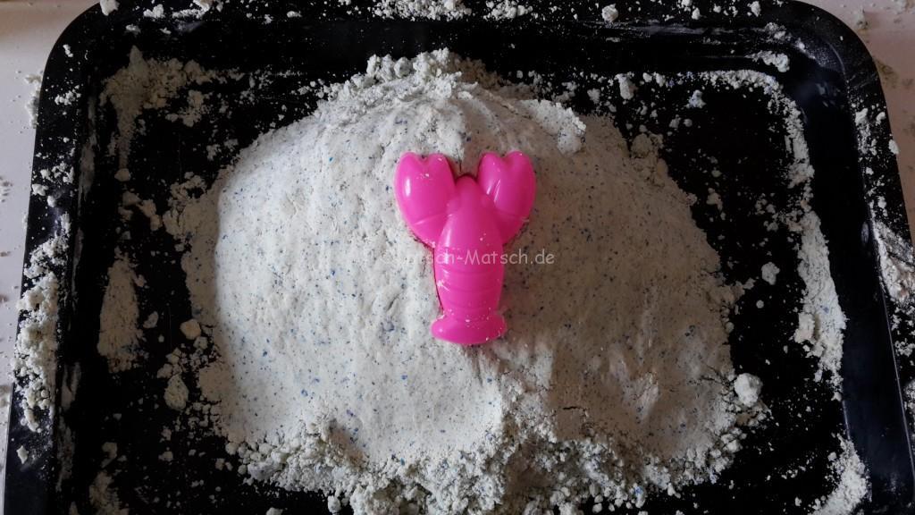kinetischer Sand bastelanleitung