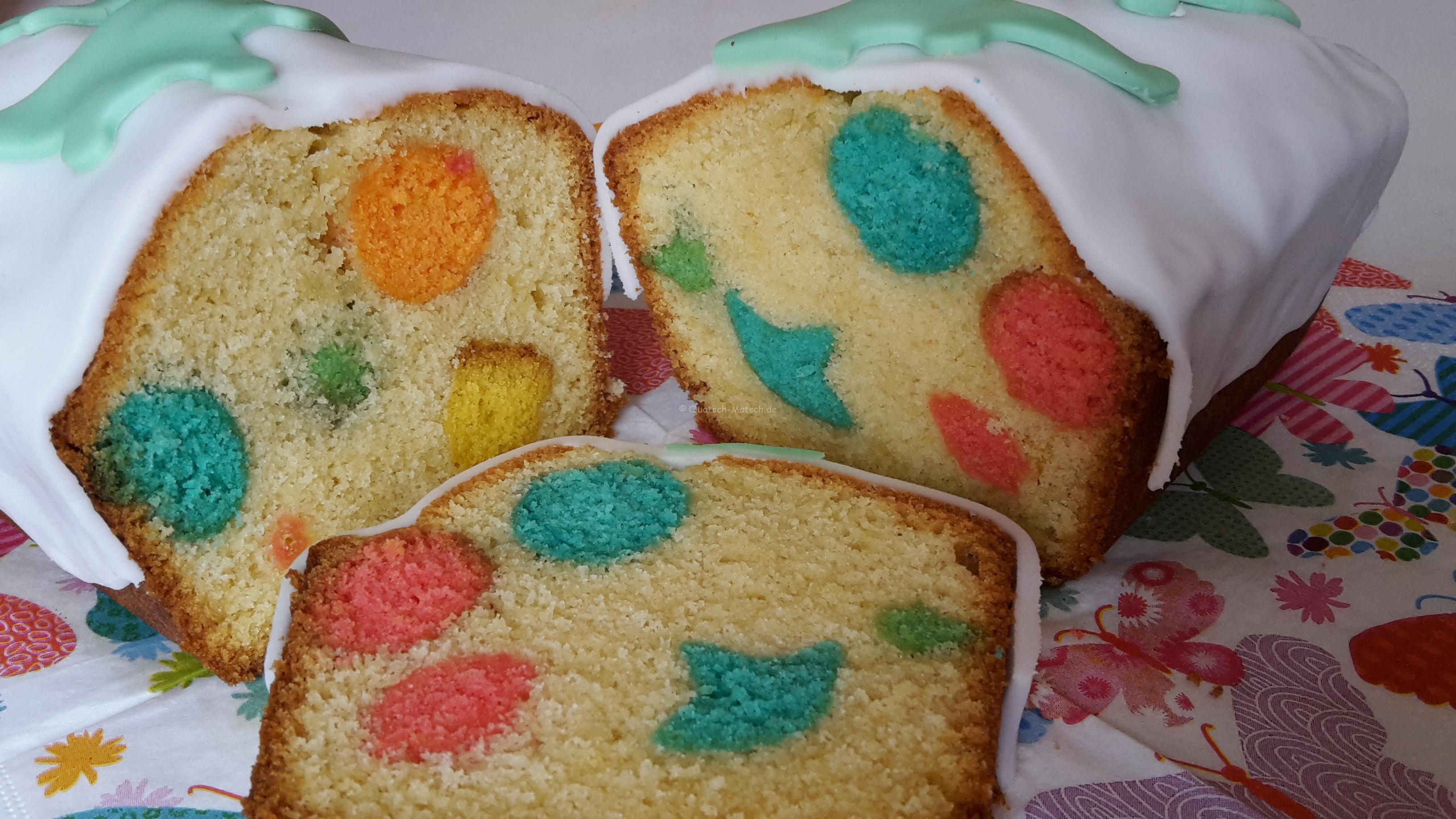 Regenbogenkuchen mal anders
