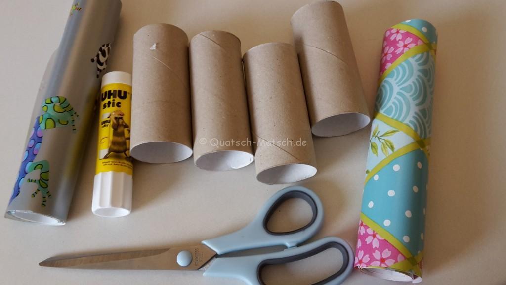 DIY Toilettenpaperrollen
