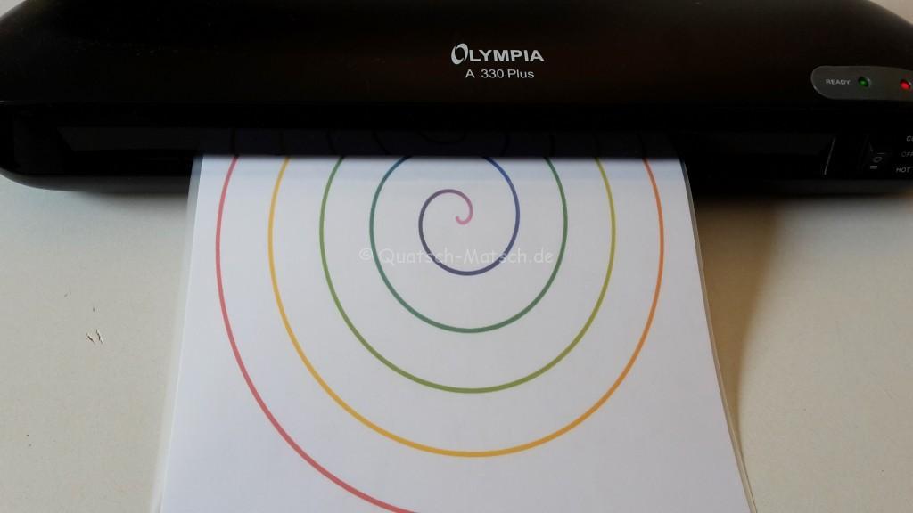 Olympia Laminiergerät